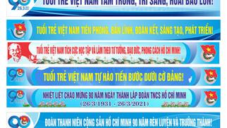 Băng Rôn Banner Đại Hội Đoàn TNCS Hồ Chính Minh 90 Năm Vector Corel CDR Part06