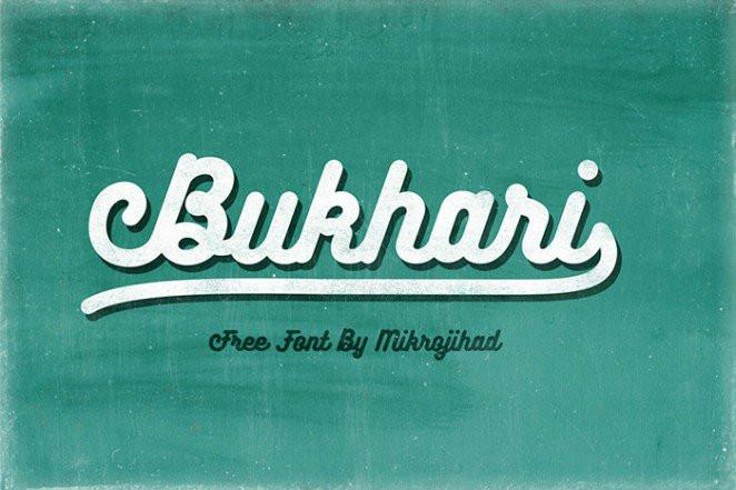 Font Bukhari Script