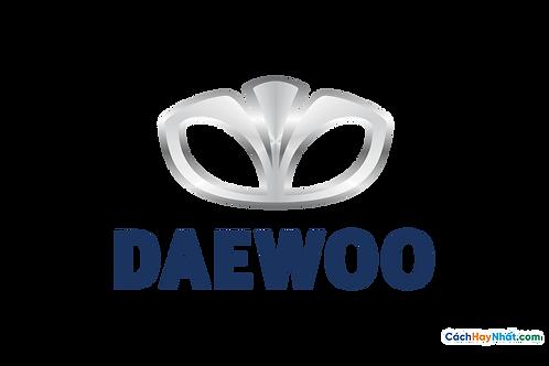 Logo Daewoo 3D Vector PDF PNG
