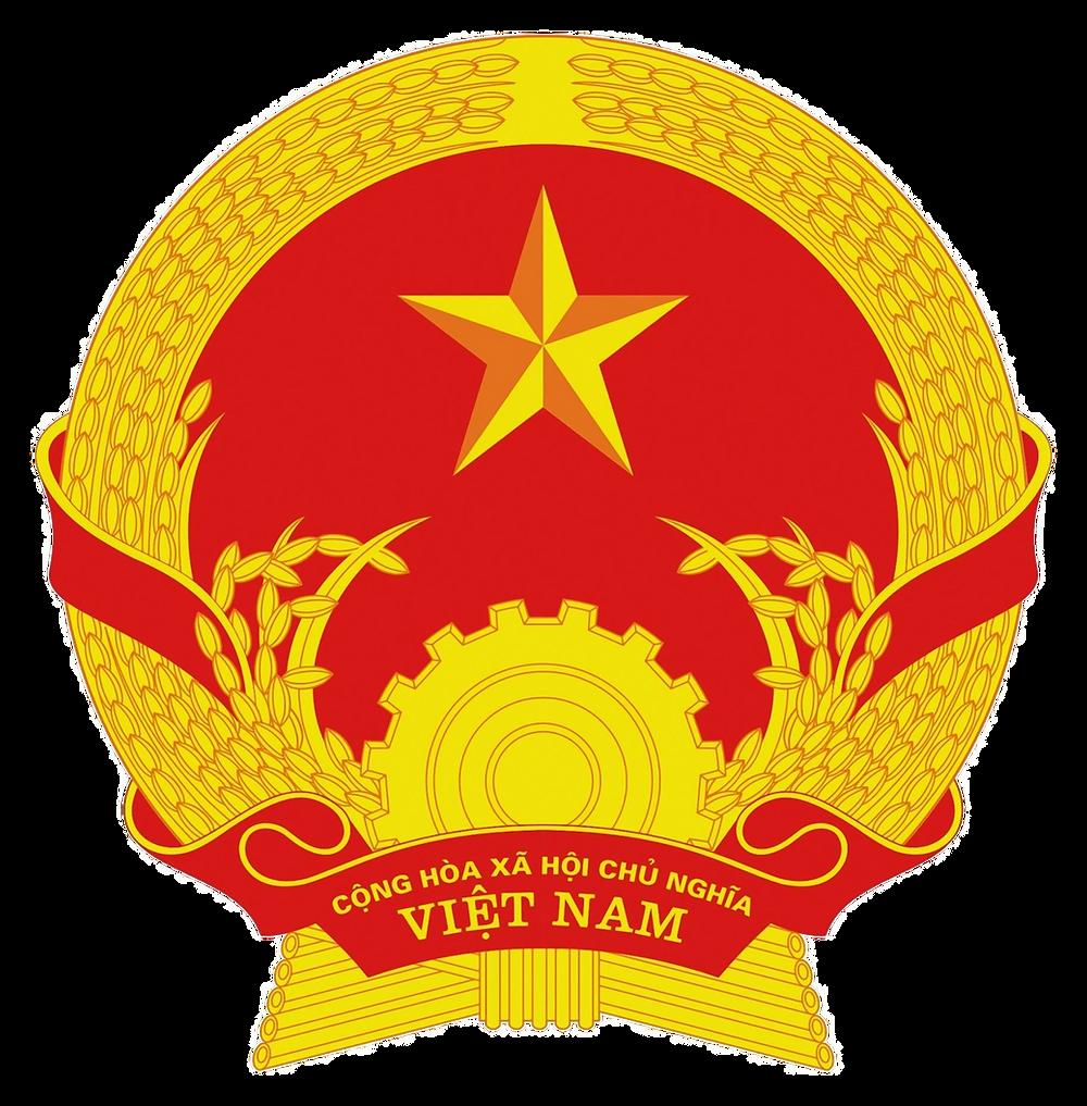Quốc Huy Việt Nam Chuẩn file PNG