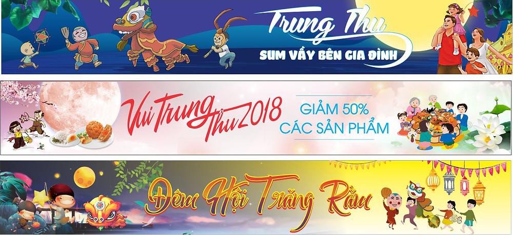 Banner Băng Rôn Trung Thu Vector Corel CDR Part27