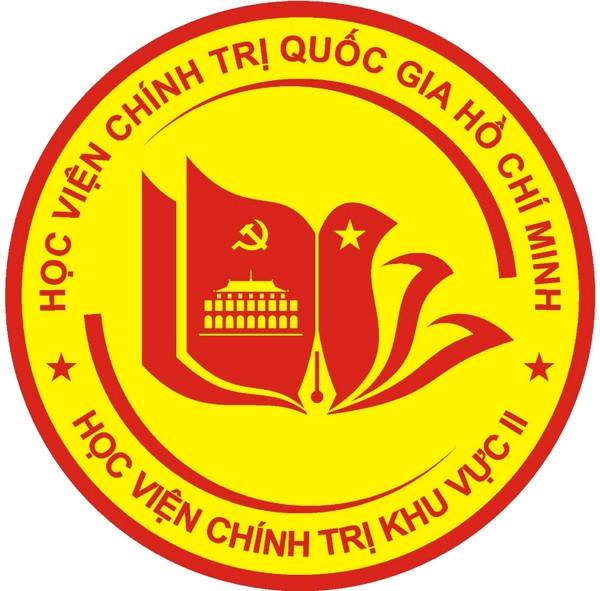 logo học viện chính trị khu vực II