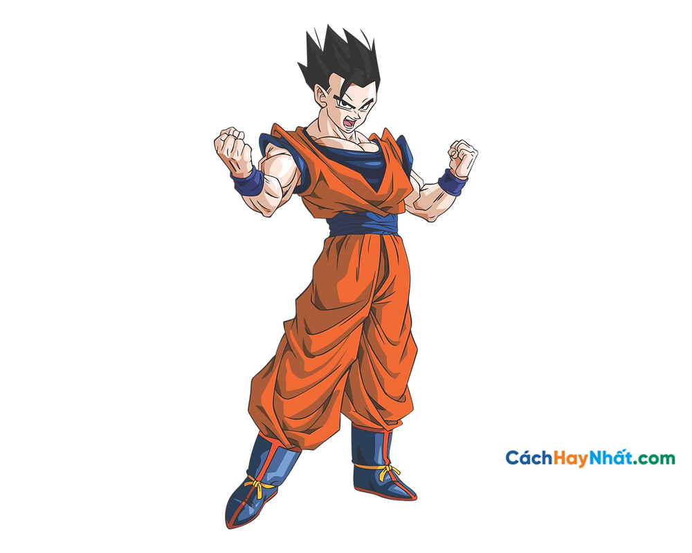 Vector Corel PNG 7 Dragon Ball - Songohan