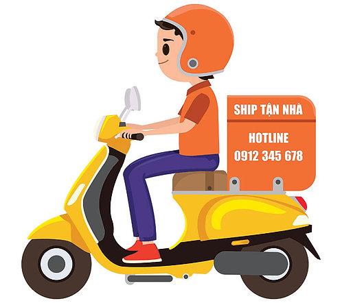 Download Vector Nam Shipper Đi Xe Máy File CDR Corel