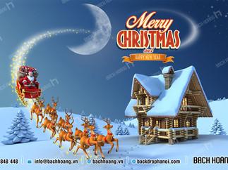 Tổng Hợp Mẫu Backdrop Phông Noel Giáng Sinh Merry Christmas Đẹp Nhất Phần 03