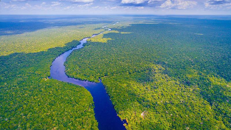 Sông Amazon - 6,575 km