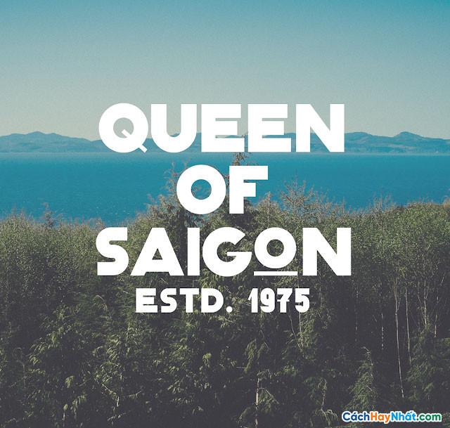 Font Classique SaiGon Việt Hóa