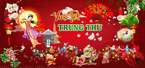 Free Download Background Trung Thu Vector Corel CDR 83