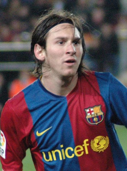 Messi trong trận gặp Deportivo
