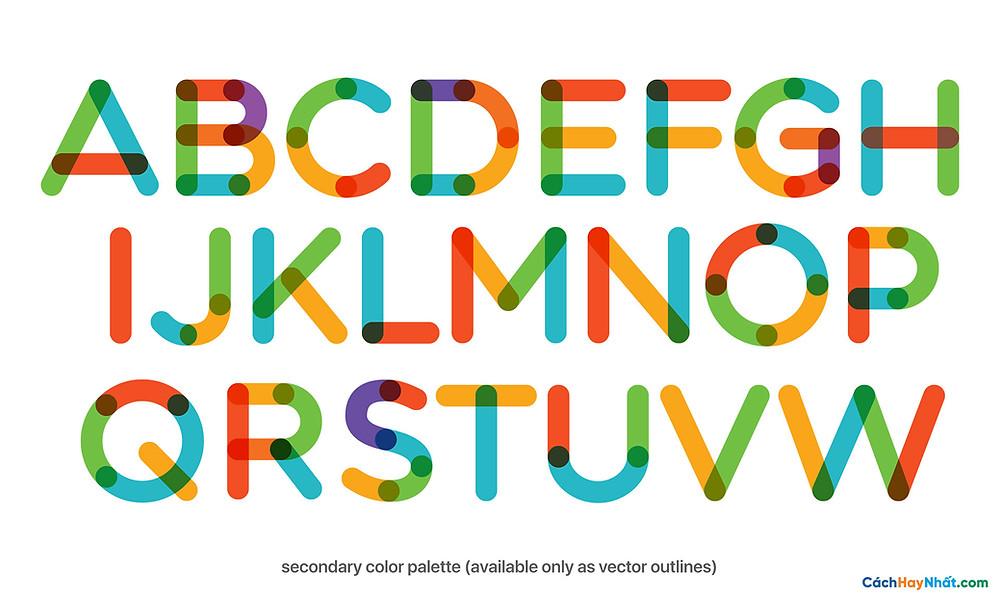 Free Font Multicolore Pro By Neogrey Creative