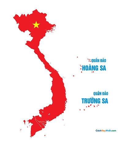 Vietnam Standard Map File Vector - Bản Đồ Việt Nam Chuẩn