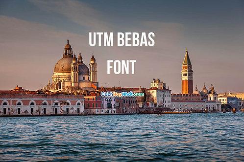 Download Font UTM Bebas Việt Hóa