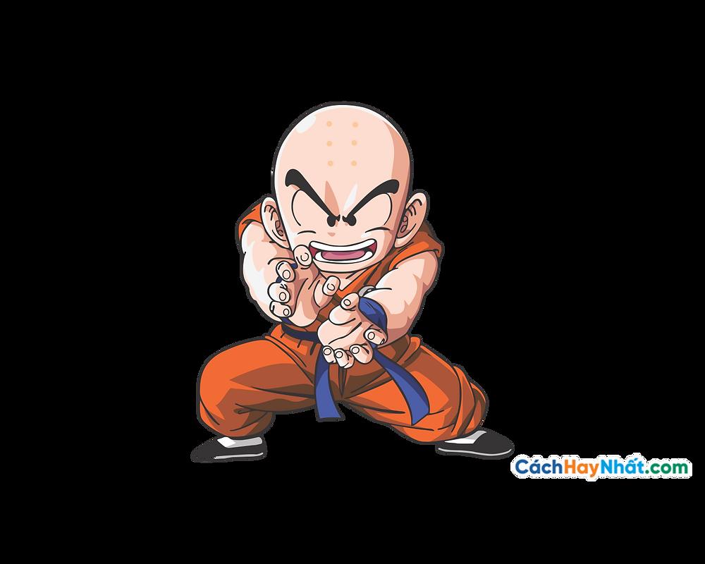 Vector Corel PNG 7 Dragon Ball - Krillin
