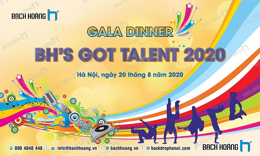 Mẫu backdrop phông Gala Dinner, Team Building đẹp nhất 59