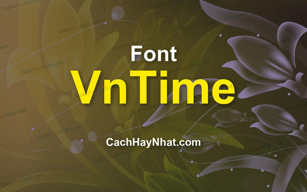 Font VnTime