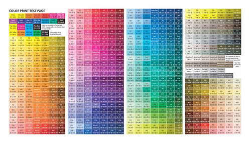 Bảng Màu CMYK Vector Corel CDR - CMYK Vector Corel CDR Palette