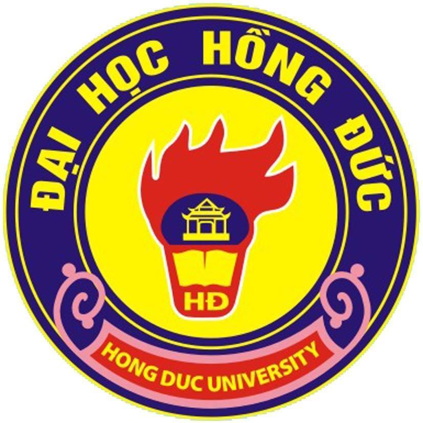Logo Trường Đại học Hồng Đức