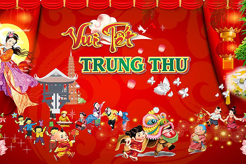 Free Download Background Trung Thu Vector Corel CDR 82