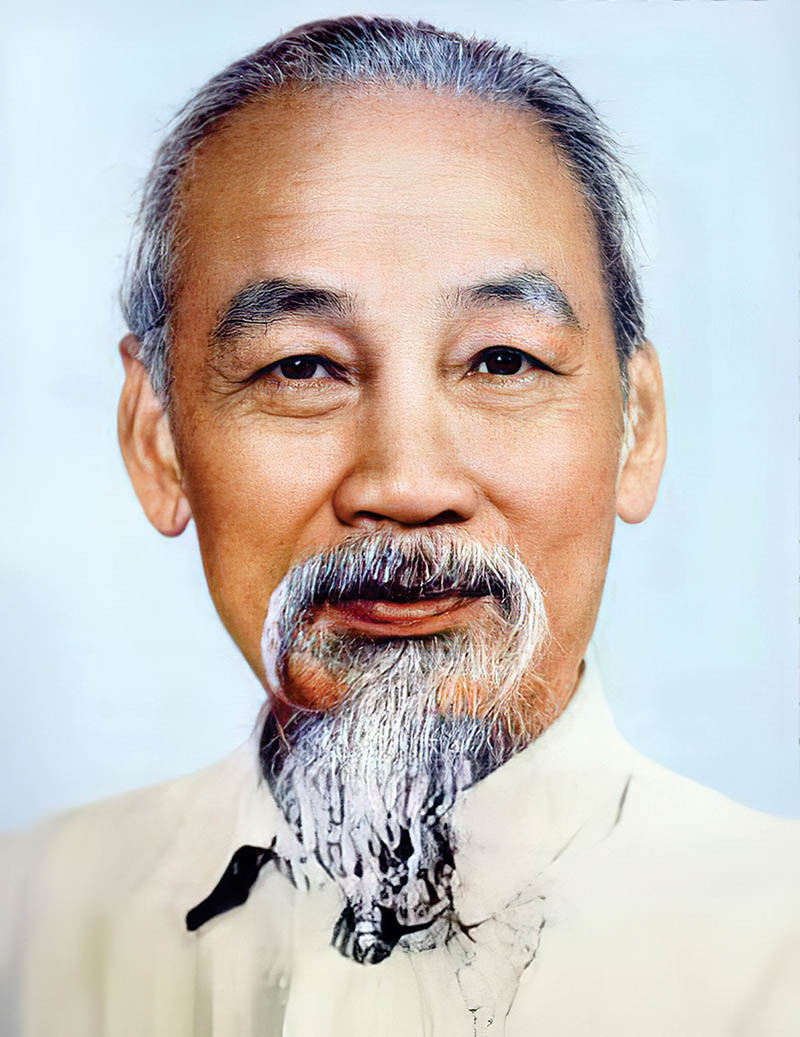 Ảnh Chân Dung Bác Hồ - Chủ Tịch Hồ Chí Minh