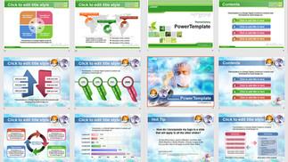 Download Mẫu Powerpoint Template Free Đẹp - Phần 04