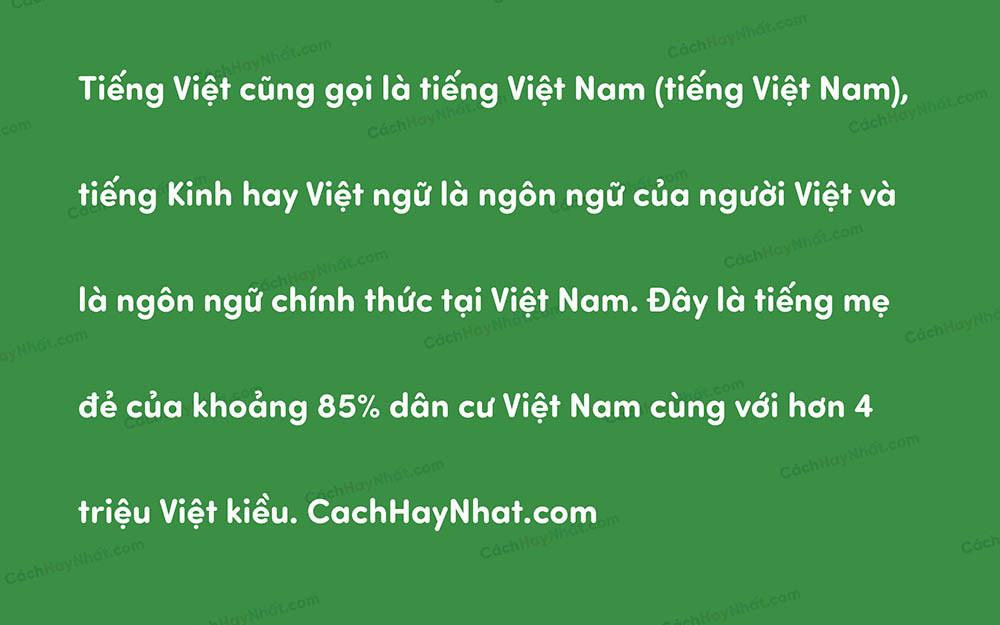 Font VL Sofia Pro Soft Việt Hóa