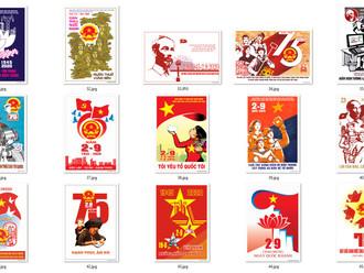 Tranh Cổ Động 75 Năm Cách Mạng Tháng Tám và Quốc Khánh 2-9 Chất Lượng Cao Part03