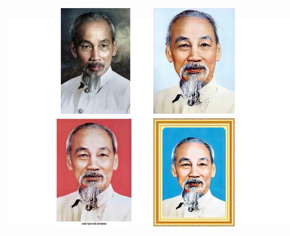 Ảnh Chân Dung Bác Hồ - Chủ Tịch Hồ Chí Minh - Siêu Nét