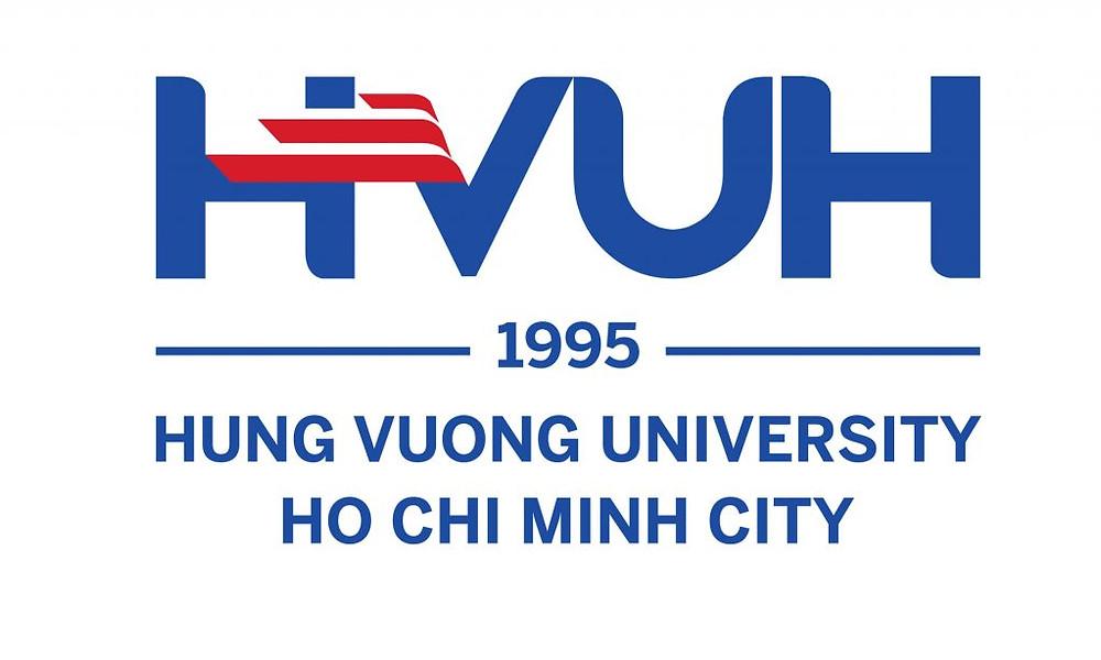 Logo Trường Đại học Hùng Vương Thành phố Hồ Chí Minh