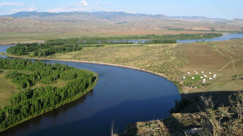Sông Yenisei - 5,539 km