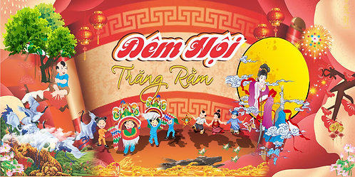 Tết Trung Thu Mid-Autumn Festival Vector Corel CDR 43