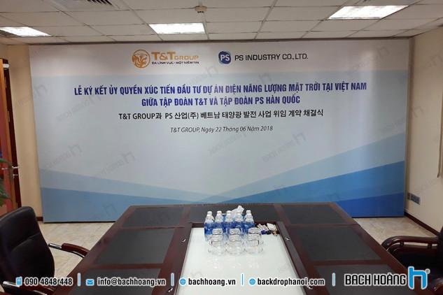 Lễ ký kết hợp tác T&T Group và PS Inductry Co., LTD