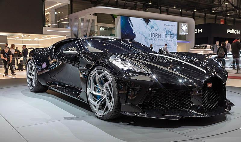 1. Bugatti La Voiture Noire