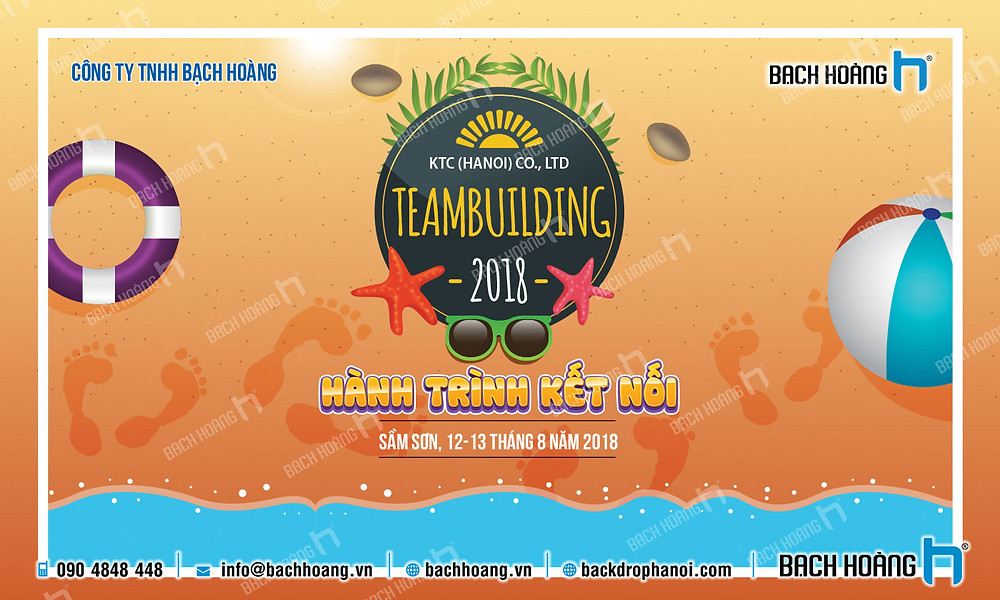 Mẫu backdrop phông Gala Dinner, Team Building đẹp nhất 18
