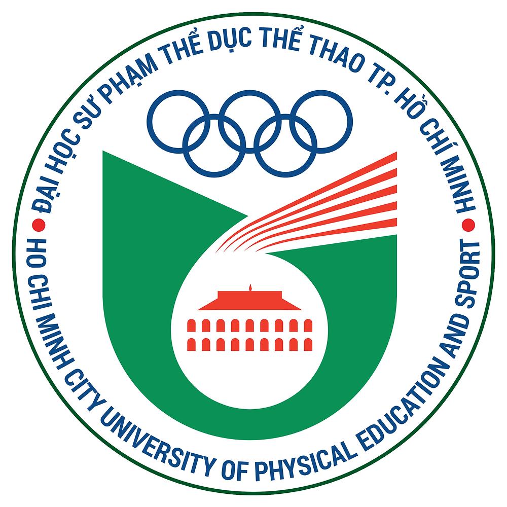 Logo Trường Đại học Sư phạm Thể dục Thể thao Thành phố Hồ Chí Minh