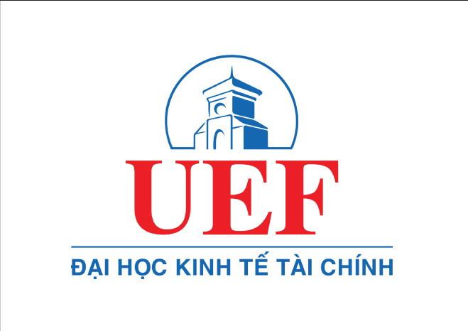 Logo Trường Đại học Kinh tế - Tài chính Thành phố Hồ Chí Minh