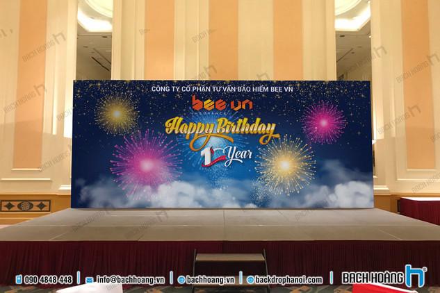 Bee Vn Insurace Happy Birthday 1 year
