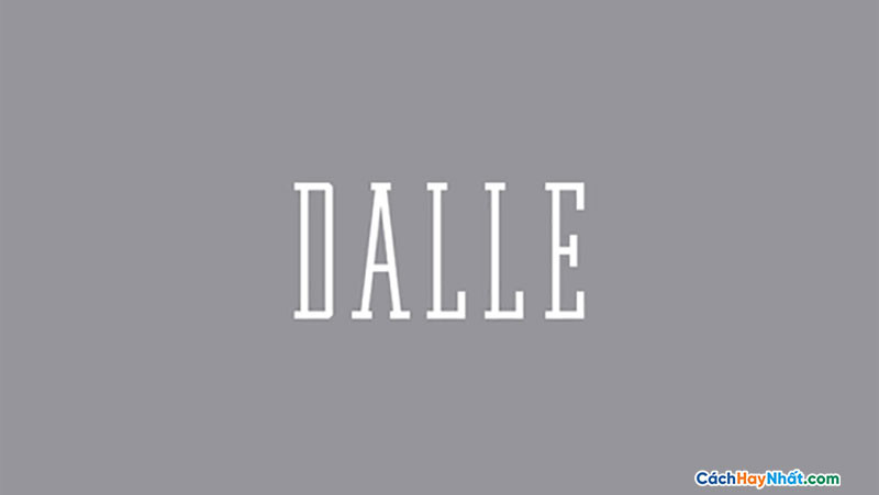 Download Free Font Dalle
