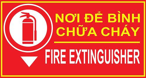 Vector Place For Fire Extinguisher - Nơi Để Bình Chữa Cháy