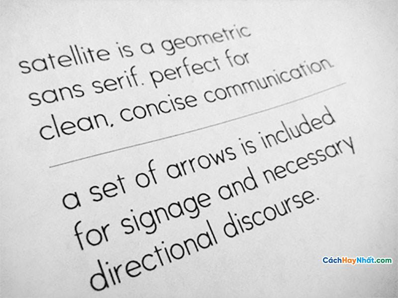 Download Free Font Satellite
