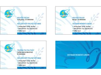 Download Name Card Hội LHPN Việt Nam File Vector CDR AI PDF