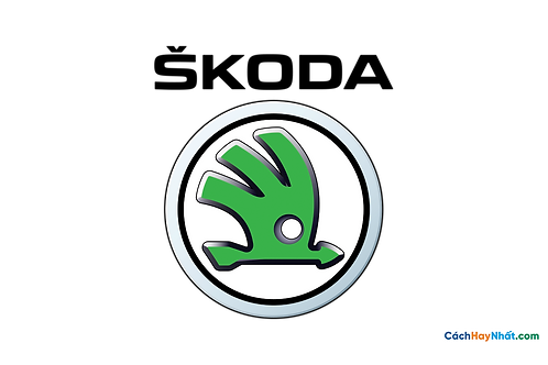 Logo Skoda 3D Vector PDF PNG