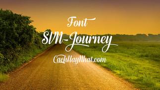 Download Font SVN-Journey Việt Hóa