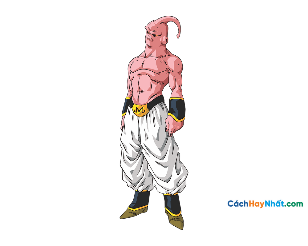 Vector Corel PNG 7 Dragon Ball - Ma Bư