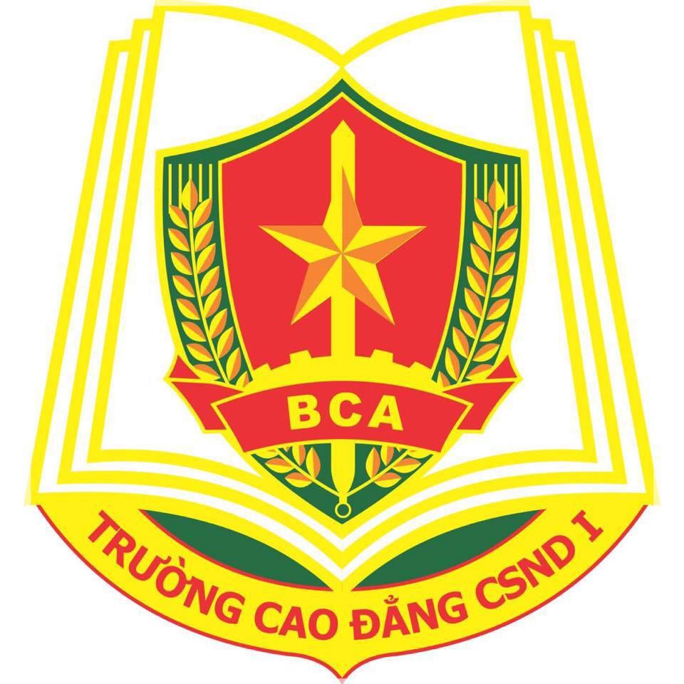 Logo Trường Cao đẳng Cảnh sát Nhân dân I