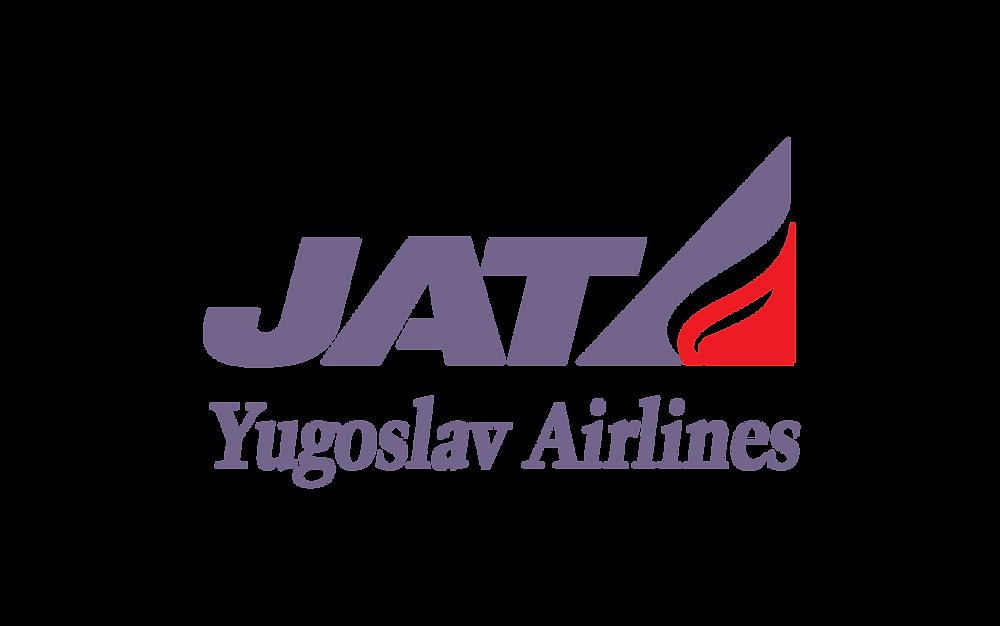 Logo JAT Yugoslav Airlines PNG