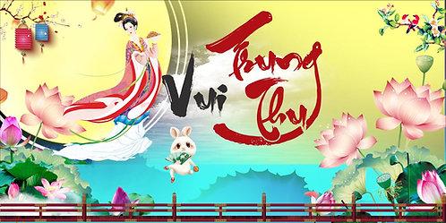 Tết Trung Thu Mid-Autumn Festival Vector Corel CDR 30