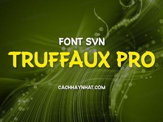 Download font SVN Truffaux Pro Việt hóa