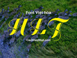 Download Bộ Font HLT Full Việt Hóa