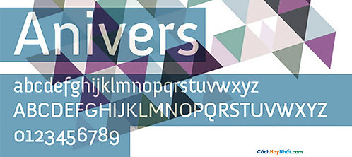 Font Anivers Download Free