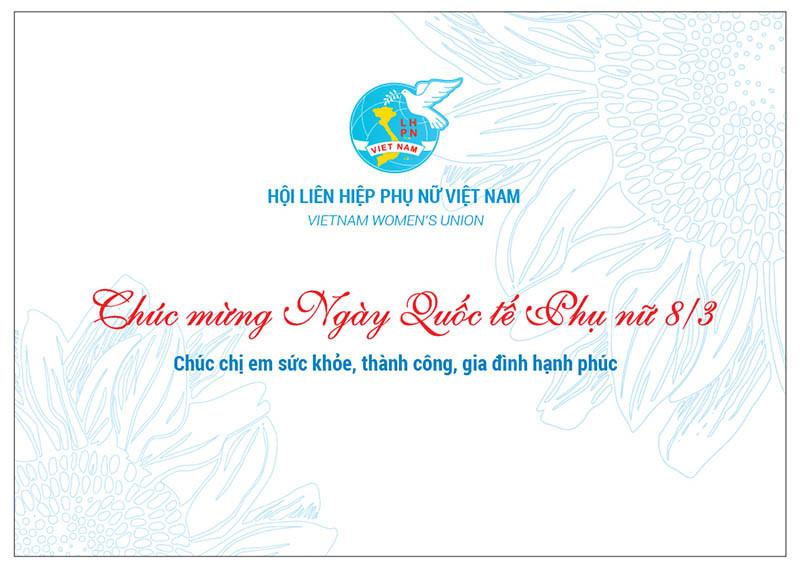Thiệp Hội LHPN Việt Nam